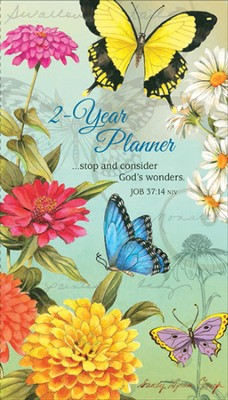 Butterflies Pocket Planner 2014/15  -     By: Sandy Clough