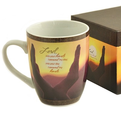 I Commit My Hands, Mug with Keepsake Box  -