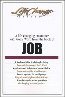 Job: LifeChange Bible Study  -