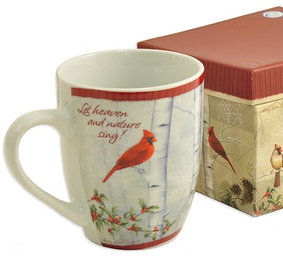 Let Heaven And Nature Sing, Mug with Keepsake Box   -     By: Sandy Clough