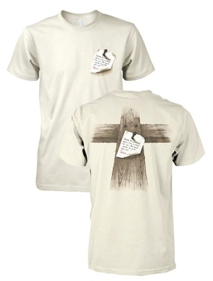 Gone to See Dad T-Shirt, Cream, Medium   -