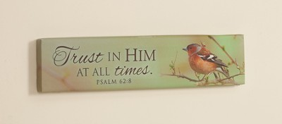 Trust In Him Framed Art  -