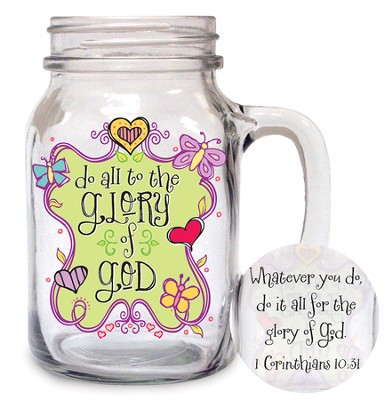 Do All To the Glory of God Glass  -
