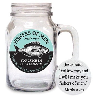 Fishers Of Men Glass  -