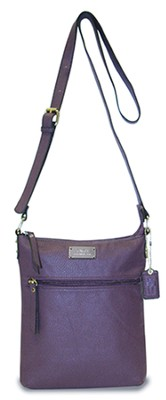 Faith, Crossbody Purse, Purple  -