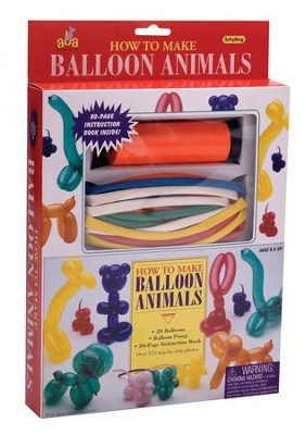 How to Make Balloon Animals Kit   -