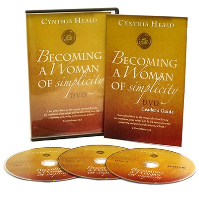 Becoming a Woman of Simplicity DVD  -     By: Cynthia Heald