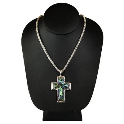 Shell Cross Necklace  -