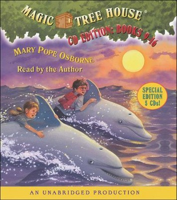Magic Tree House: Books 9-16 Unabridged Audiobook on CD  -     By: Mary Pope Osborne