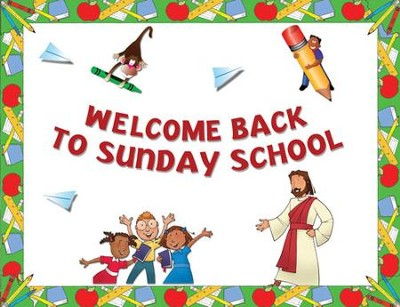 Instant Bulletin Board - Welcome Back to Sunday School - PDF Download  [Download] -     By: Legacy Press
