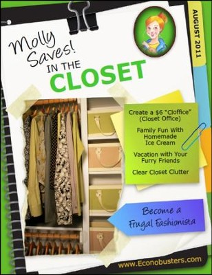 Molly Saves in the Closet - August 2011 - PDF Download  [Download] -     By: The Old Schoolhouse