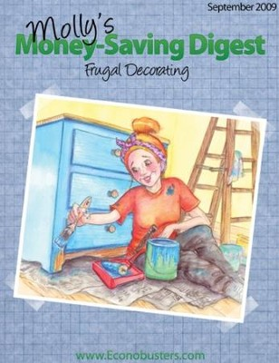 Frugal Decorating - September 2009 - PDF Download  [Download] -     By: The Old Schoolhouse