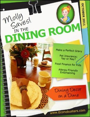 Molly Saves! In the Dining Room - October 2011 - PDF Download  [Download] -     By: The Old Schoolhouse