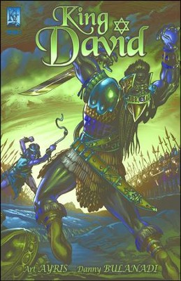 King David, Volume 1 - PDF Download  [Download] -     By: Art Ayris     Illustrated By: Danny Bulanadi