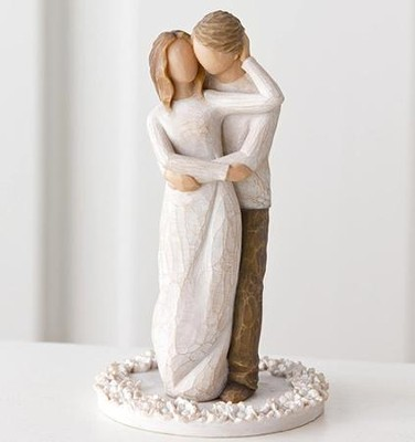 Willow Tree Together Cake Topper   -     By: Susan Lordi
