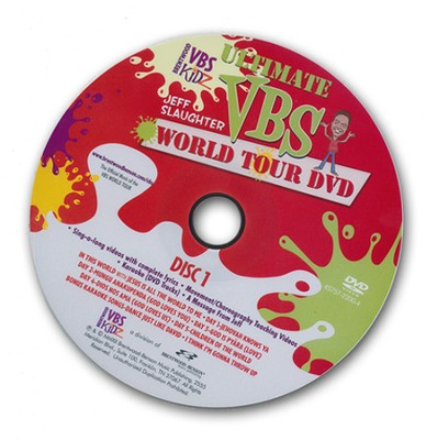 Jeff Slaughter VBS World Tour: VBS Ultimate Daily DVD  -