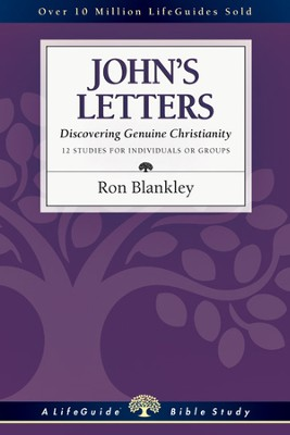 John's Letters: Discovering Genuine Christianity - PDF Download  [Download] -     By: Ron Blankley