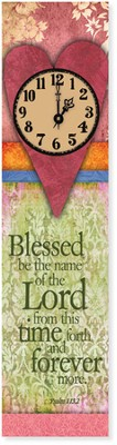 Blessed Be the Name of the Lord Clock  -
