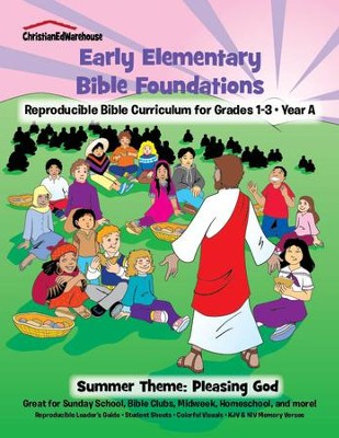 Bible Foundations Curriculum Grades 1-3 Summer, Year A - PDF Download  [Download] -     By: Christian Ed Publishers