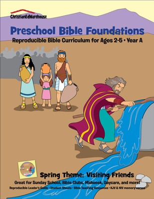 Bible Foundations Curriculum Ages 2-5 Spring, Year A - PDF Download  [Download] -     By: Christian Ed Publishers