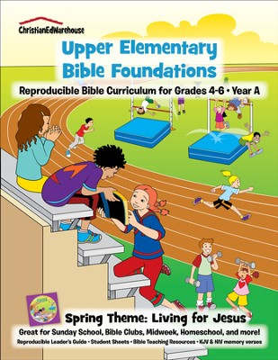 Bible Foundations Curriculum Grades 4-6 Spring, Year A - PDF Download  [Download] -     By: Christian Ed Publishers