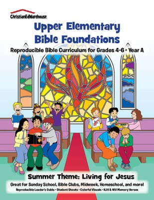 Bible Foundations Curriculum Grades 4-6 Summer, Year A - PDF Download  [Download] -     By: Christian Ed Publishers