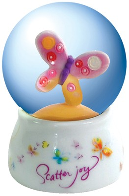 Scatter Joy Water Globe  -     By: Kathy Davis