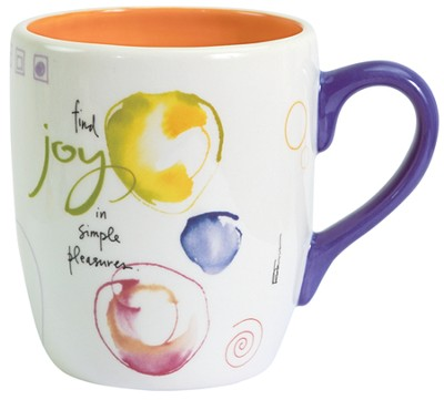 Find Joy Mug  -     By: Kathy Davis