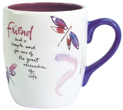 Friend Mug  -     By: Kathy Davis