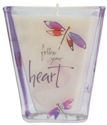 Follow Your Heart Votive Candle   -     By: Kathy Davis