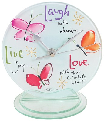Live, Laugh, Clock  -     By: Kathy Davis