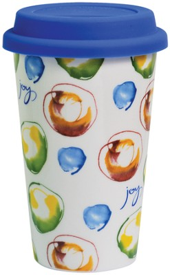 Joy Travel Mug  -     By: Kathy Davis
