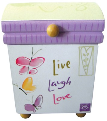 Live, Laugh, Love Mini Box  -     By: Kathy Davis