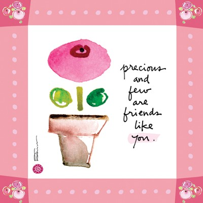 Precious and Few and Friends Like You Print  -     By: Kathy Davis