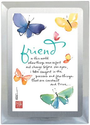 Friend, Constant and True Musical Frame  -     By: Kathy Davis