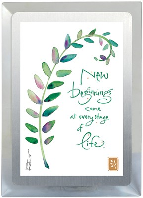 New Beginnings Come Musical Frame  -     By: Kathy Davis