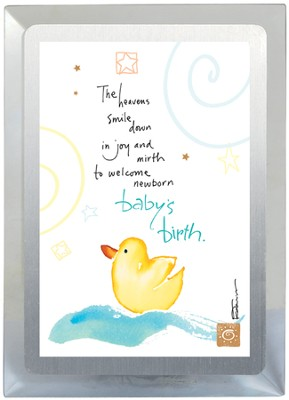 Baby's Birth Musical Frame  -     By: Kathy Davis