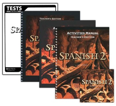BJU Spanish 2, Homeschool Kit 2nd Edition   -