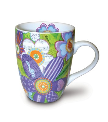 Flowers Mug  -     By: Annie Lapoint