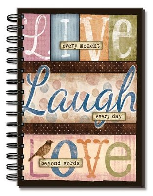 Live, Laugh, Love, Journal  -