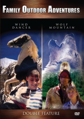 Wind Dancer/Wolf Mountain, Double Feature DVD   -