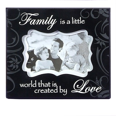 Family is a Little Word Photo Frame  -