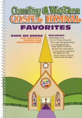 Country & Western Gospel Hymnal Favorites   -