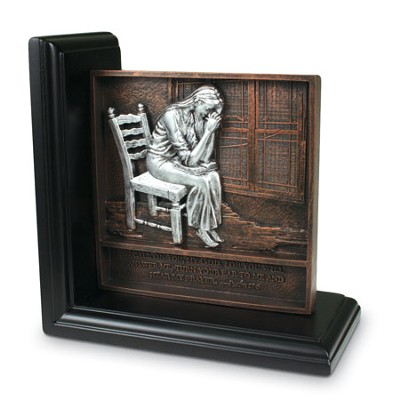 Praying Woman Bookend   -