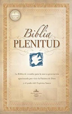 Biblia Plenitud RVR 1960, Enc. Dura con Indice  (RVR 1960 Spirit-Filled Bible, Hardcover Thumb Indexed)  -