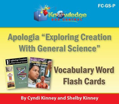 Apologia Exploring Creation With General Science Vocabulary Word Flash Cards (1st & 2nd Editions) - PDF Download  [Download] -     By: Cyndi Kinney, Shelby Kinney