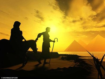 Escape to Egypt  [Download] -     By: Eikon Bible Art