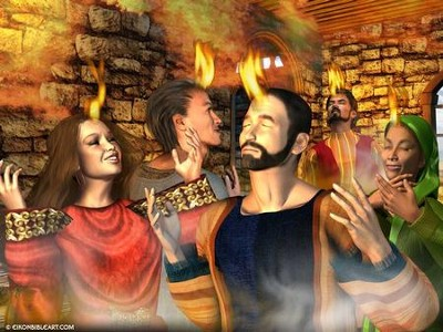 Day of Pentecost  [Download] -     By: Eikon Bible Art