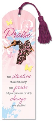 Total Praise Bookmark  -