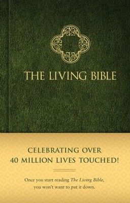 Living Bible, hardcover   -